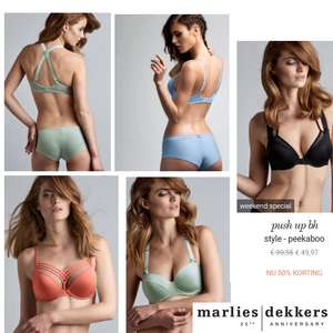 Dit weekend: deel vd collectie -50% @ Marlies Dekkers
