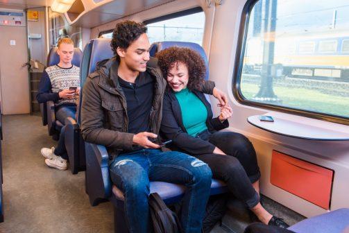 Trein weekend dagretour (za of zo) naar provinciehoofdsteden + Rotterdam