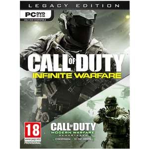 Call of Duty Infinite Warfare Legacy Edition (PC) voor €8,98 @ Intertoys