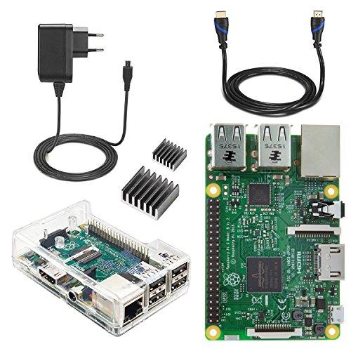 Raspberry Pi 3 Starter Kit-EU plug Edition