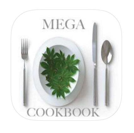 Gratis iOS app mega weed cookbook