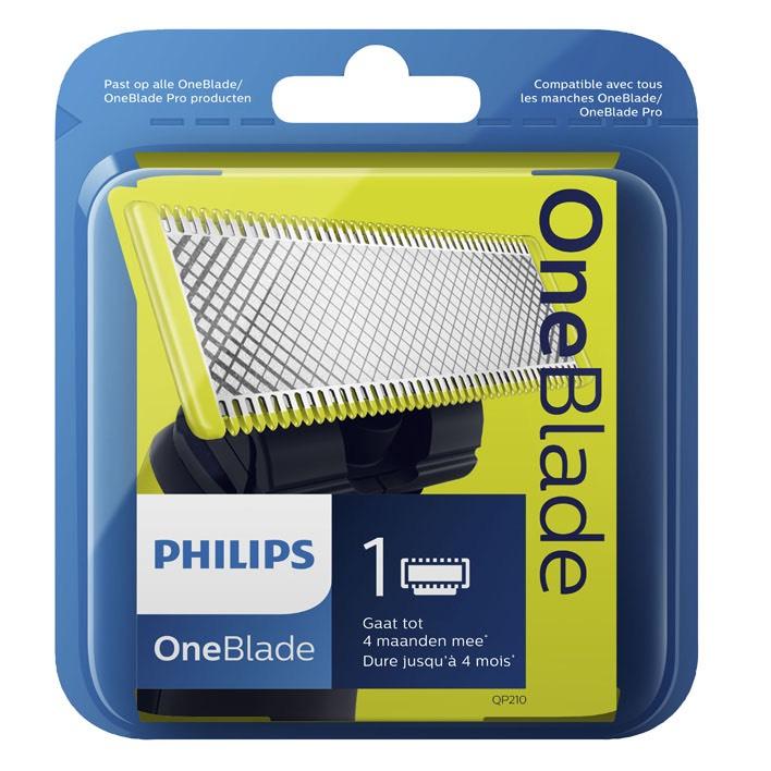 1 + 1 Gratis OneBlade vervangmesje QP210/50