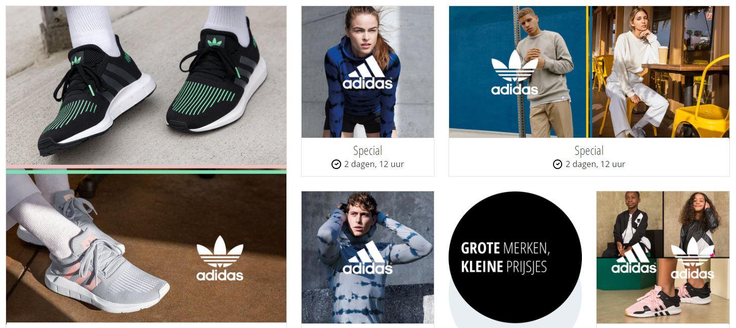 adidas met tot 75% korting + evt €10 extra @ Zalando Lounge