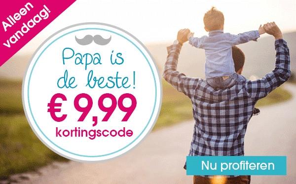Alleen vandaag - €9,99 korting bij een besteding vanaf €70 @ Pinkorblue