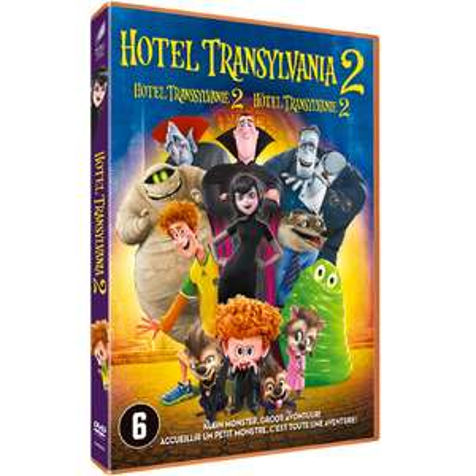 Hotel Transylvania 2 en Het regent gehaktballen 2 (DVD) voor €0,48 per stuk @ Intertoys