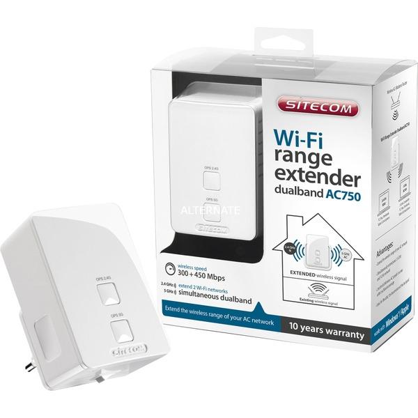 Sitecom WLX-5100WLX-5100 Wi-Fi Range Extender Dualband AC750 voor €14 @ Media Markt