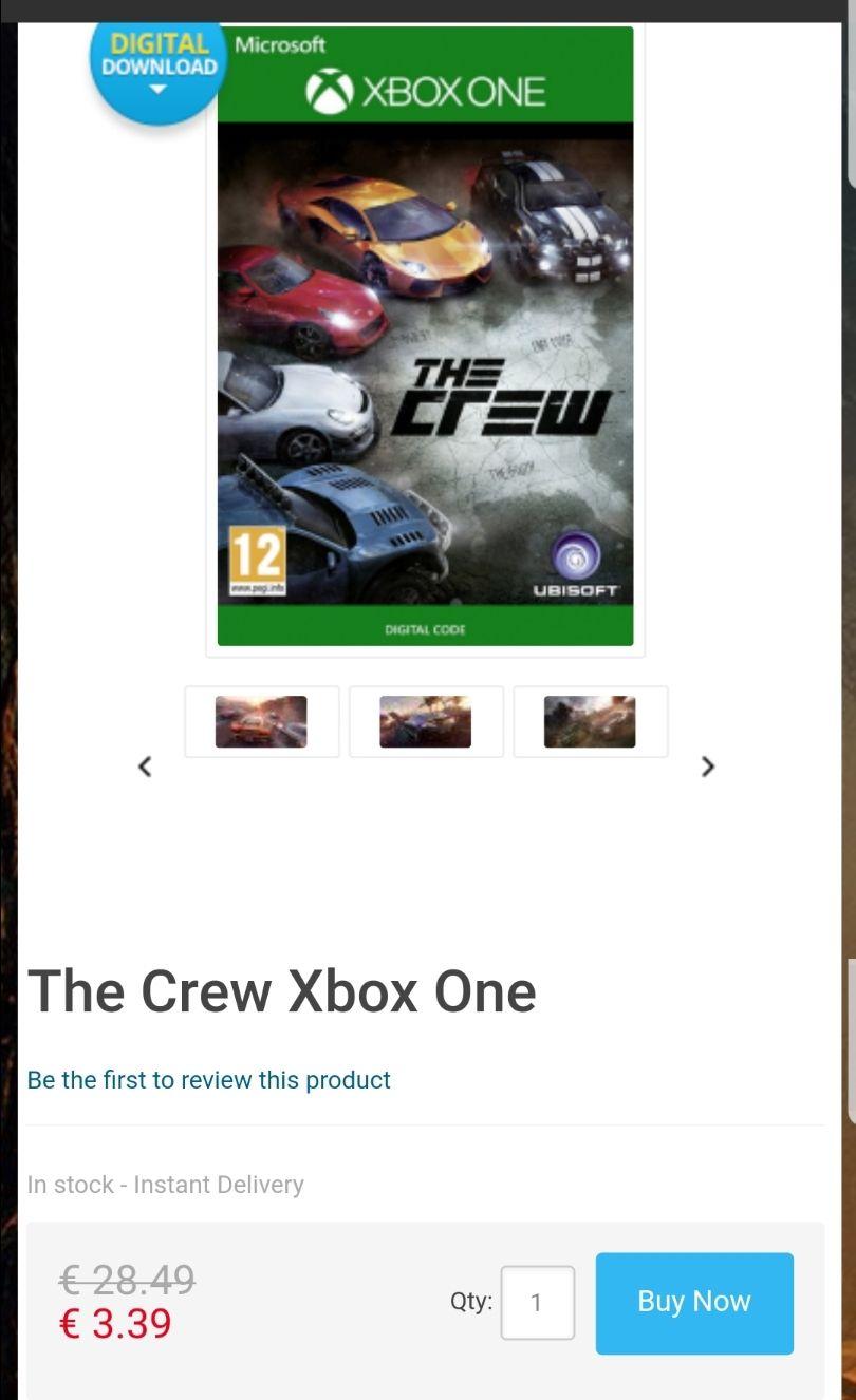 The Crew Xbox One - CdKeys