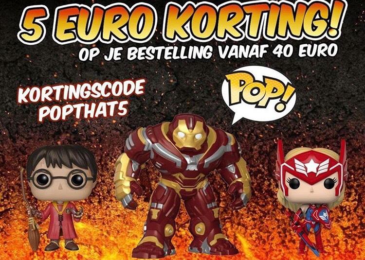 €5 euro korting bij besteding vanaf €40 bij funkopops.nl! - ALLEEN VANDAAG