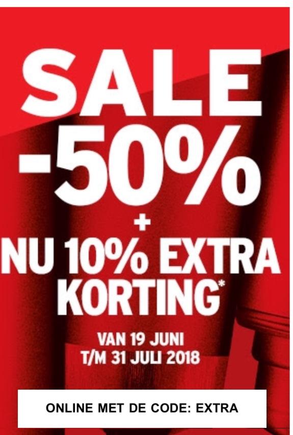 Body Shop 10% extra korting op de sale