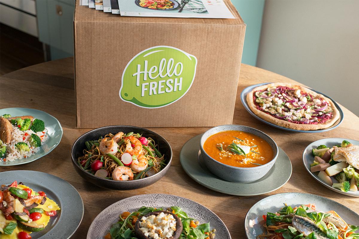 Hello Fresh box met 25 euro korting