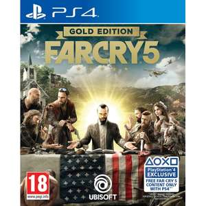 Far Cry 5 Gold Edition 49,99 (Eerst 55,99) Xbox1/Ps4