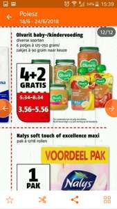Ovarit baby/kindervoeding 4+2 gratis!!
