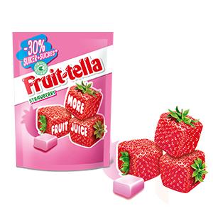 Fruitfans opgelet! Probeer nu Fruittella met 50% cashback