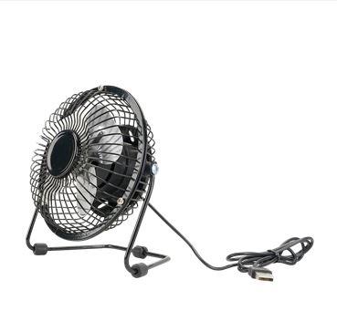 USB ventilator, heerlijk in de zomer bij de PC of laptop of vakantie