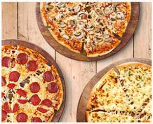 3de Medium Pizza Gratis, Geldig in LIMBURG —- @Domino's