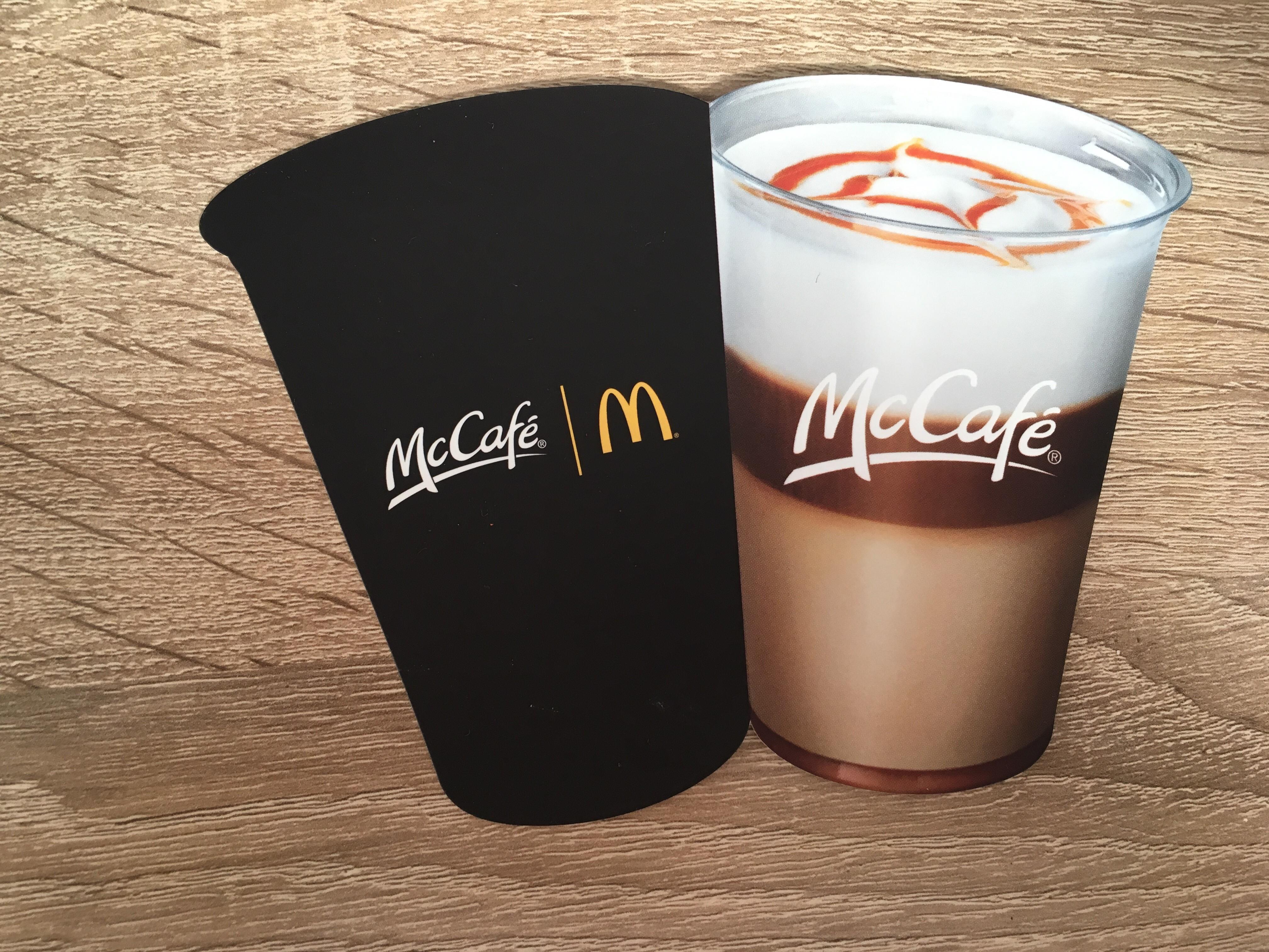 McCafe warm drankje voor € 1,-