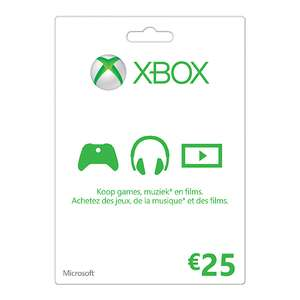Microsoft Xbox Live Gift Card 25 Euro voor € 20,93 @ G2A.com