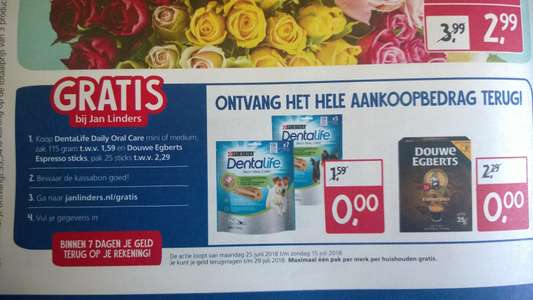 Graits DentaLife Daily Oral Care en Douwe Egberts Espresso Sticks bij Jan Linders