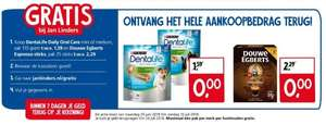 Gratis DentaLife Daily Oral Care en Douwe Egberts Espresso Sticks bij Jan Linders