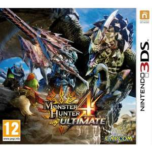 Monster Hunter 4 Ultimate (3DS) voor €30,65 @ TheGameCollection