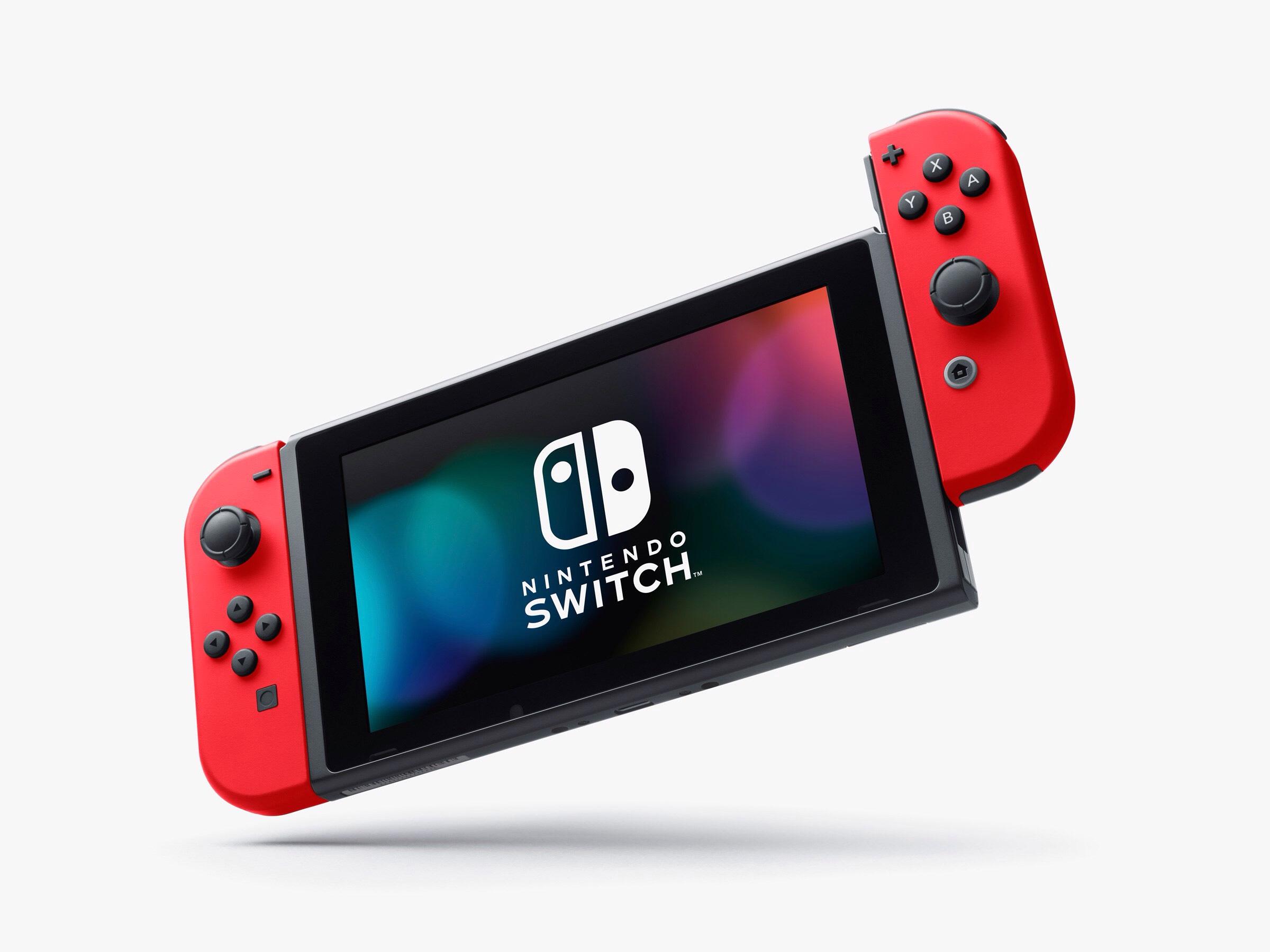 Nintendo Switch Rood/Blauw of Grijs met €37,50 korting