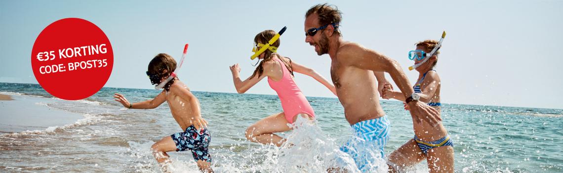 TUI - 35 hotels aan het water met € 35 extra korting