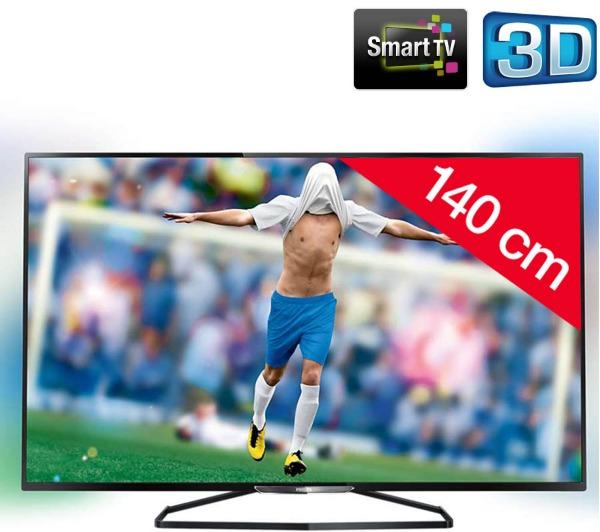Philips 55PFK6549 LED 3D Smart TV voor € 673,99 @ Pixmania