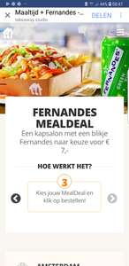 Meal deal thuisbezorgd