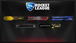 Gratis WWE content @ Rocket League