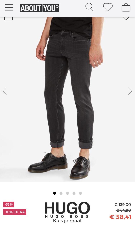Hugo Boss spijkerbroeken