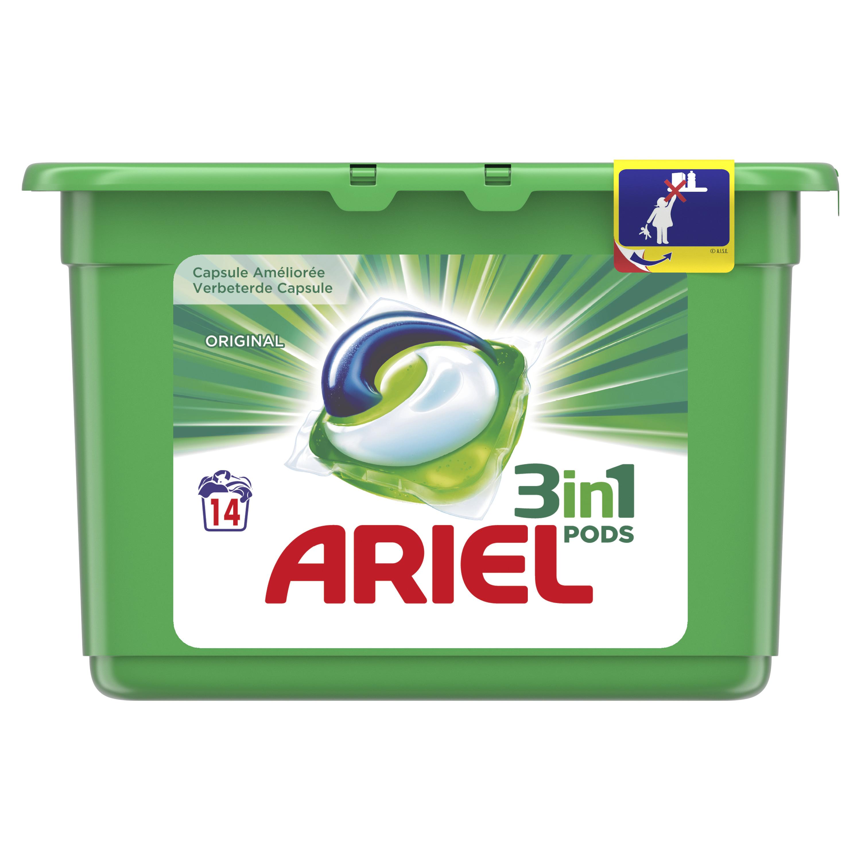 Gratis Ariel pods testen