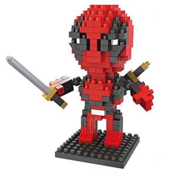 Mini Deadpool Bouwstenen - 230 stuks voor €1,74 @ Gearbest