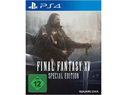 Final Fantasy XV Special Edition (PS4) voor €12,95 (+€2,95) @ iBOOD