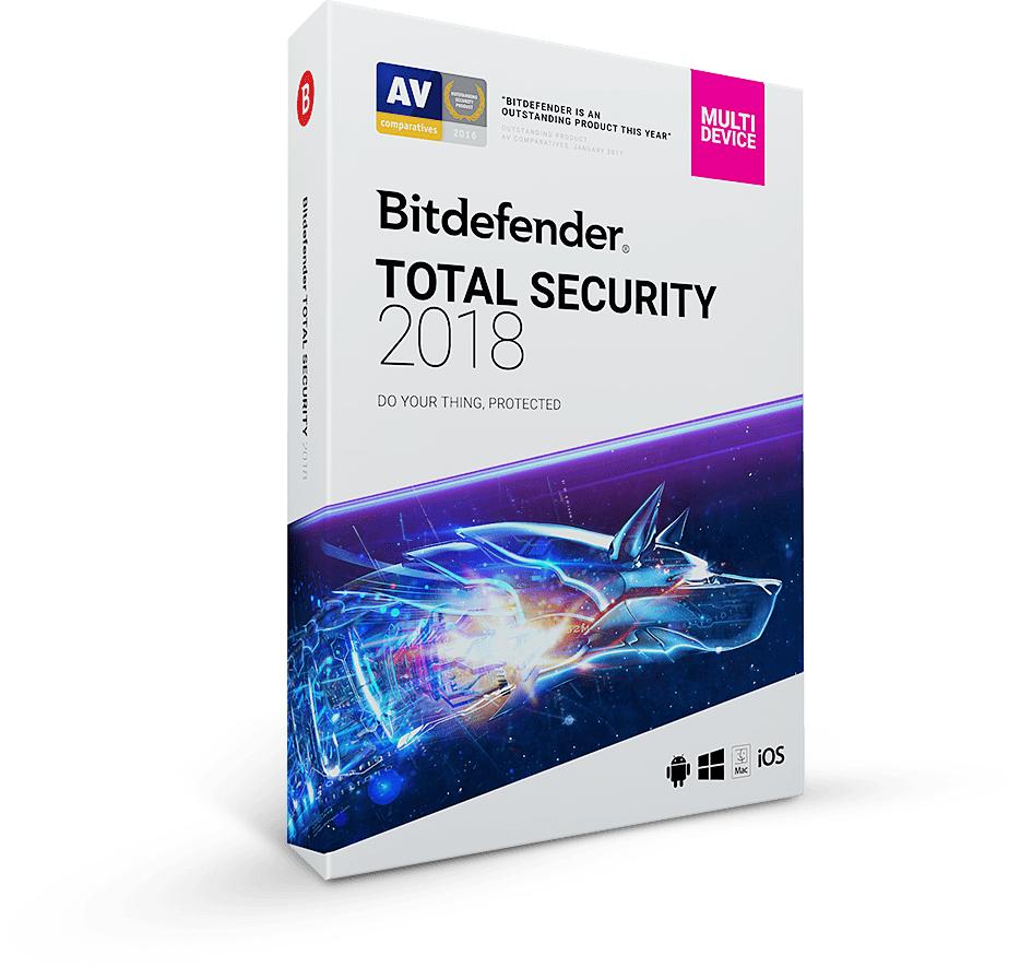 Gebruik Bitdefender Total Security 6 maanden gratis