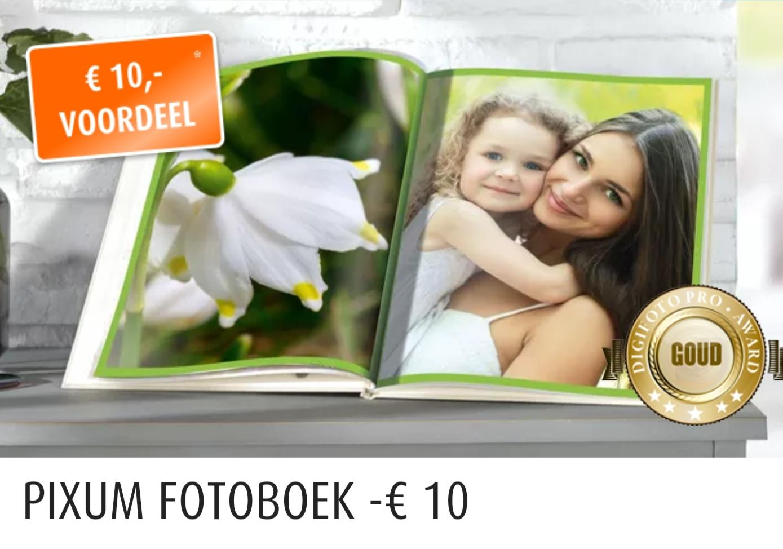 Zelf fotoboek(je) maken vanaf €2,94 incl verzendkosten (met een €10,- kortingscode)