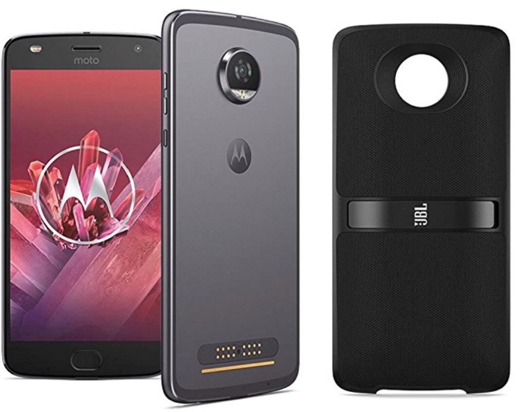 [UPDATE] Motorola Moto Z2 Play + JBL SoundBoost 2 + Moto Z luidspreker Alexa —- elders bij elkaar €511,35!!!