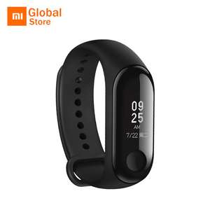 Mi Band 3 Black voor €24,75 @ AliExpress