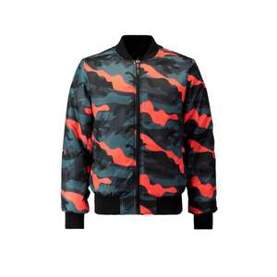 camouflage bomberjack