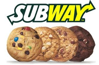 GRATIS koekje @Subway