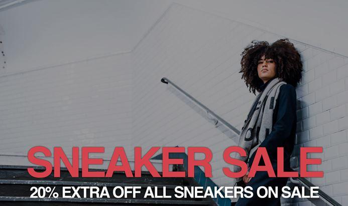 Met code 20% extra korting op sale sneakers @ Kickz