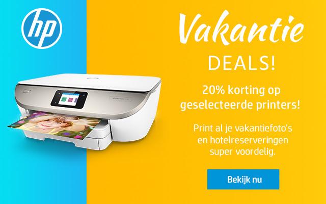 20% korting op geselecteerde printers @ HP