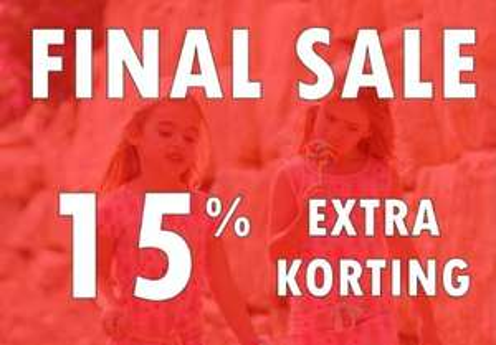 Met code 15% extra korting op sale @ Jayno
