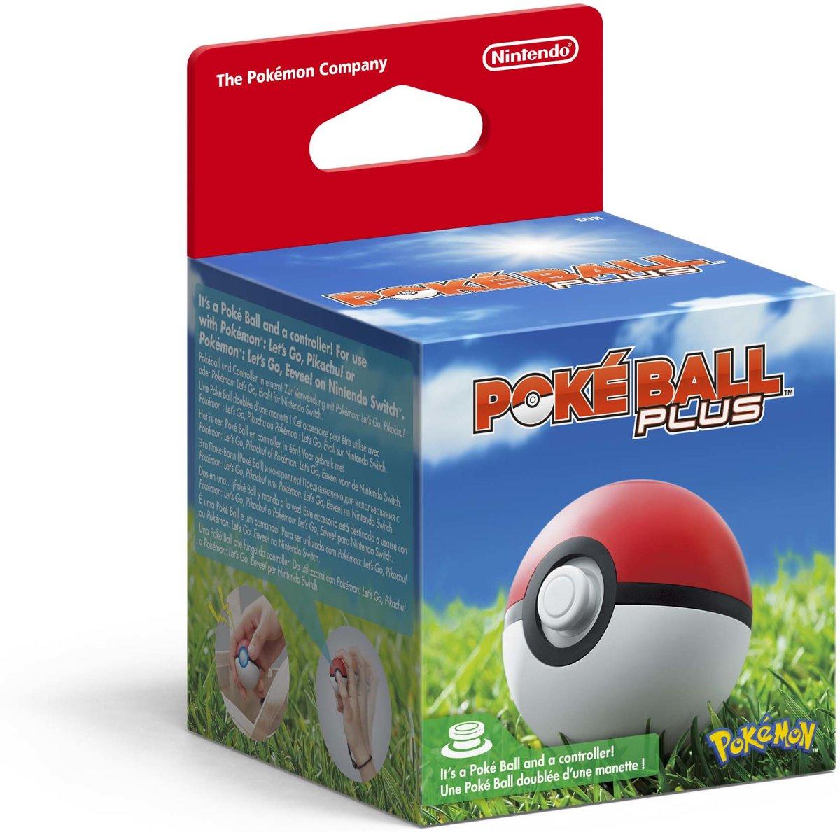 Pokemon: Let's Go PokeBall Plus Controller voor €42,99 @ Wehkamp