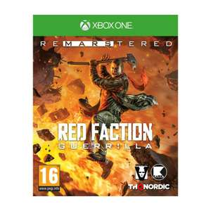 Red Faction Guerrilla Re-Mars-tered Xbox One/PC voor €24,95 @ YGZ