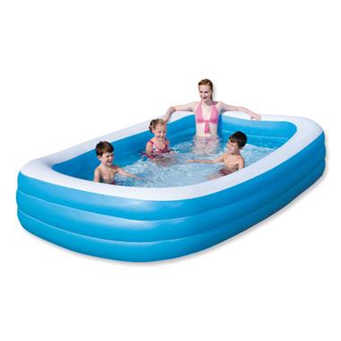 Bestway opblaasbaar zwembad (305x183x56 cm) voor € 17,50 @ Blokker