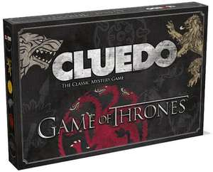 Cluedo Game of Thrones bordspel voor €14,99 @ Bol.com