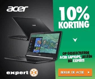 10% korting op geselecteerde laptops van Acer @ Expert