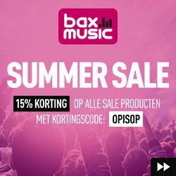 15% korting tijdens de Summer Sale @ Bax-shop