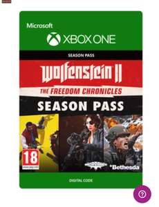 Wolfenstein 2 the new Colossus season pass Xbox one