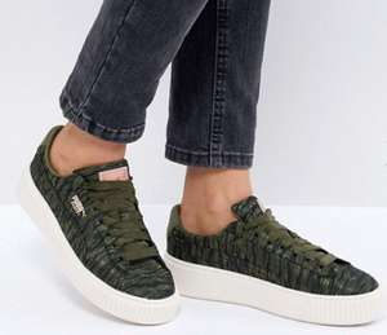Puma Basket platform sneakers (38) @ ASOS